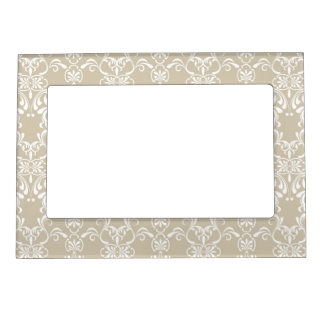 Floral Pattern Picture Frame Magnets