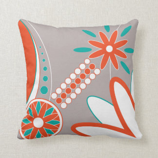 Floral Pattern Pillow - Double sided