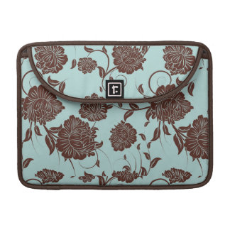 Floral Pattern Sleeve For MacBook Pro