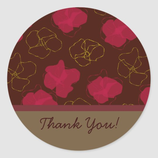 Floral Pattern Stickers