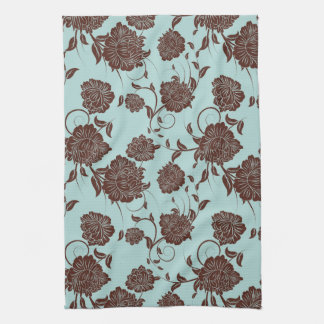 Floral Pattern Tea Towel