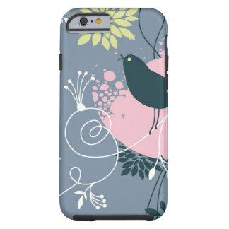 Floral Pattern Tough iPhone 6 Case