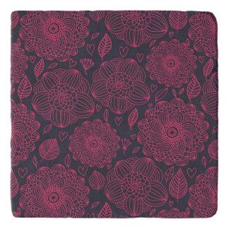 Floral Pattern Trivet