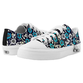 Floral Patterns Low Tops