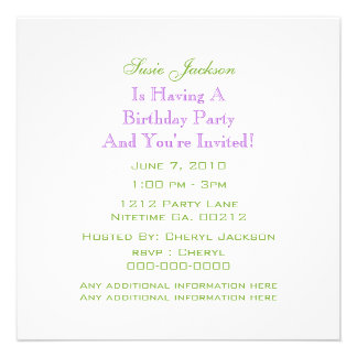 Floral Peace SIgn Save The Date Party Invitations