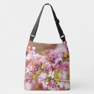 Floral Photography of Spring Lilac Blossoms Tote Bag