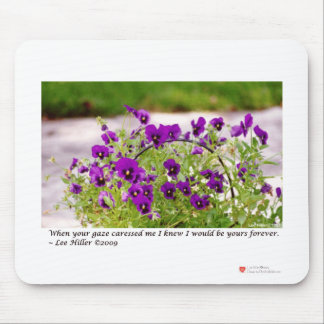 Floral Photography (Pansies) Gifts & Collectibles Mouse Pad
