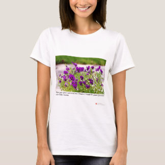 Floral Photography (Pansies) Gifts & Collectibles T-Shirt