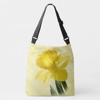 Floral Photography Yellow Spring Daffodil Pics Crossbody Bag