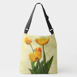 Floral Photography Yellow Spring Tulip Pics Tote Bag
