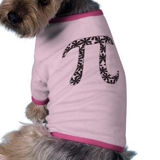 Floral Pi Doggie Shirt