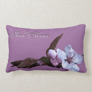 Floral Pillow PInk Purple
