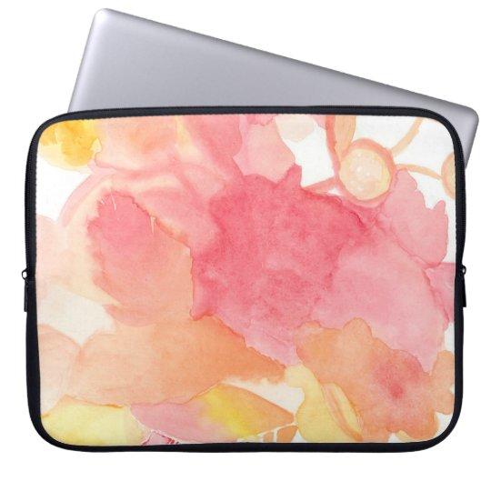 Floral Pink Computer Case