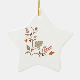 Floral Plant Christmas Ornaments