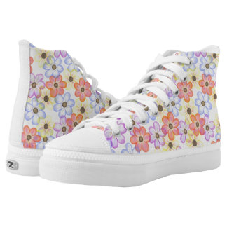 Floral Print Shoes Printed Shoes
