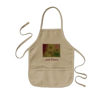 (floral products) kids apron