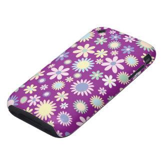 Floral purple lavender orchid flower iphone 3g/3gs iPhone 3 tough case