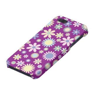 Floral purple lavender orchid flower iphone 5 case