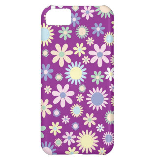 Floral purple lavender orchid flower iphone 5c iPhone 5C cover