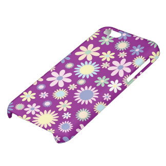 Floral purple lavender orchid flower iphone 5c cover for iPhone 5C