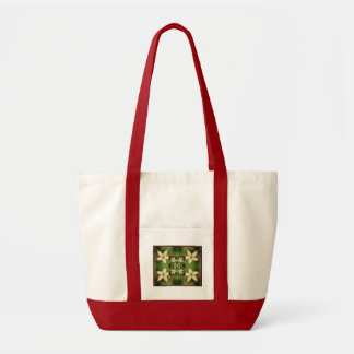 Floral Quilt Tote Bag