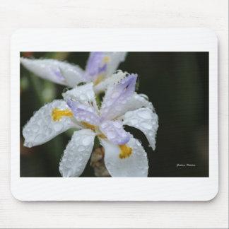 Floral Rain Drop.jpg Mouse Pad