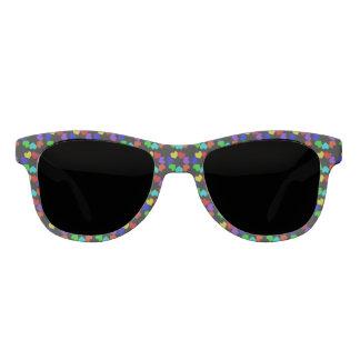 Floral Rainbiow Love Hearts Sunglasses
