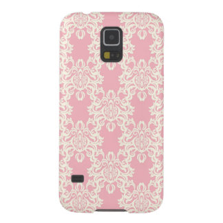 Floral retro damask case for galaxy s5