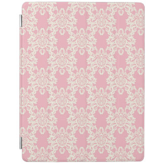 Floral retro damask iPad cover