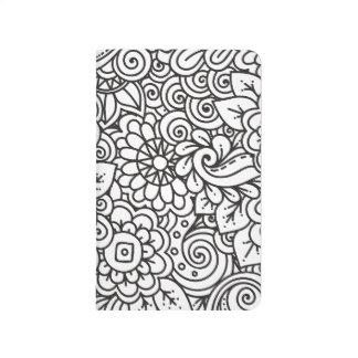 Floral Retro Doodle Journal