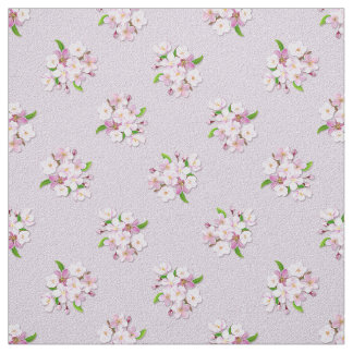 Floral retro spring  pattern. fabric