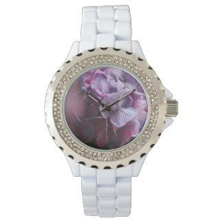 Floral Rhinestone Watch