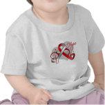 Floral Ribbon Hope - Myelodysplastic Syndromes Tshirt