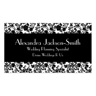 Floral Rococo Wedding, wedding industry business c Business Cards