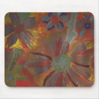 Floral Rodent Pad Mouse Pad