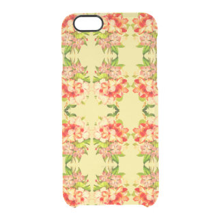 Floral Romantic Yellow Girly Clearly™ Phone Case
