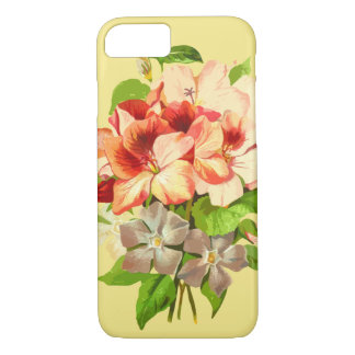 Floral Romantic Yellow Girly Phone Case