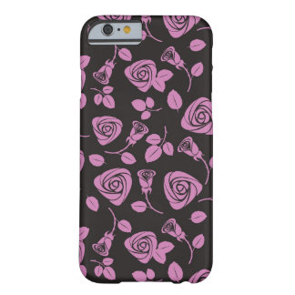 Floral Rose Background Barely There iPhone 6 Case