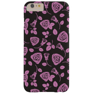 Floral Rose Background Barely There iPhone 6 Plus Case