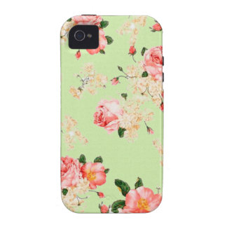 Floral Roses Case-Mate iPhone 4 Cases