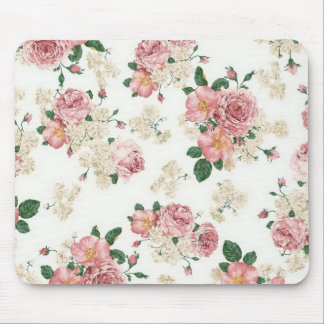Floral Roses Mouse Pad