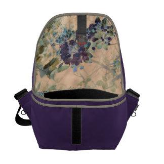 Floral Rustic Cottage Chic Courier Bag