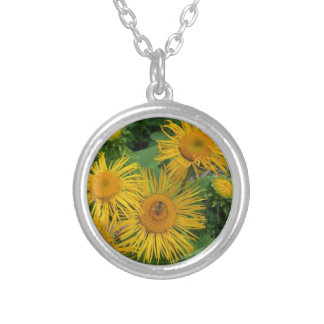 Floral Series Silver Plated Necklace