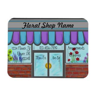 Floral Shop custom business referral magnet