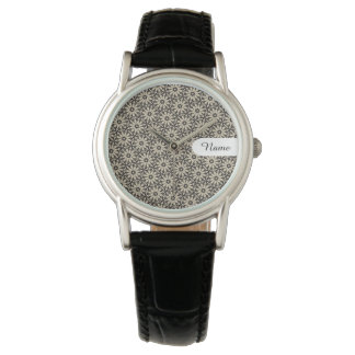 FLORAL    simple flower pattern Watches