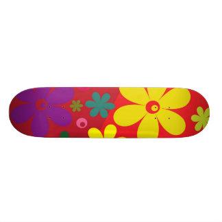Floral Custom Skateboard