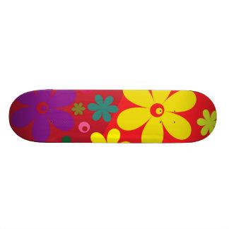 Floral Custom Skate Board