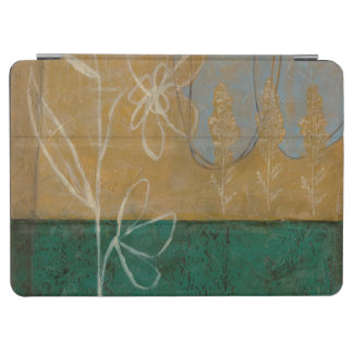 Floral Sketch with Wildflower and Plants iPad Air Cover
