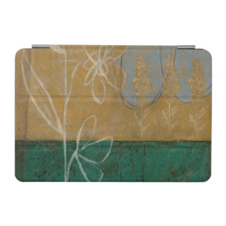 Floral Sketch with Wildflower and Plants iPad Mini Cover