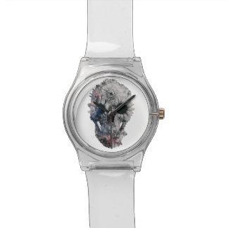 Floral Skull 2 Watch